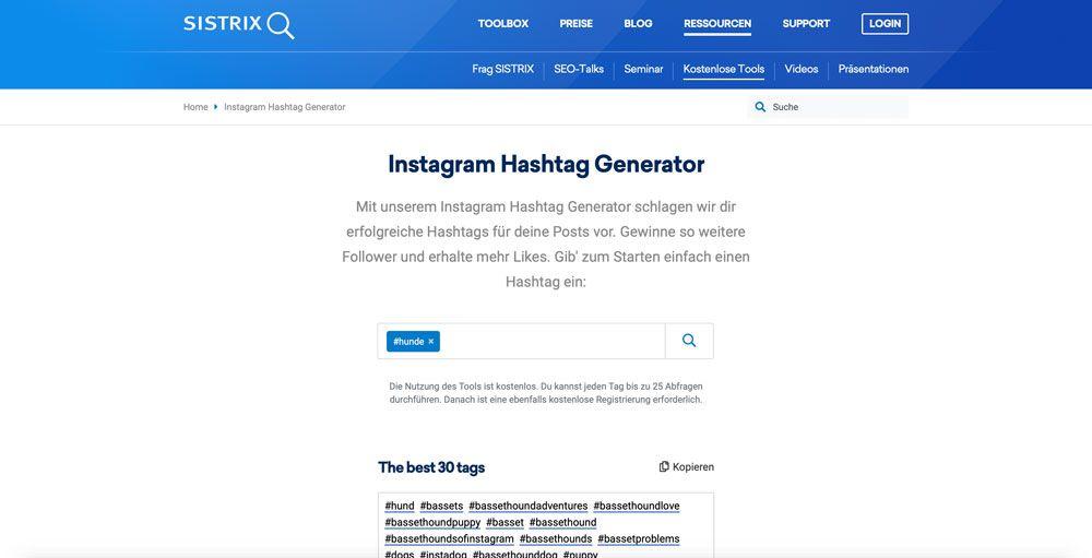 Instagram Follower mit den richtigen Hashtags bekommen