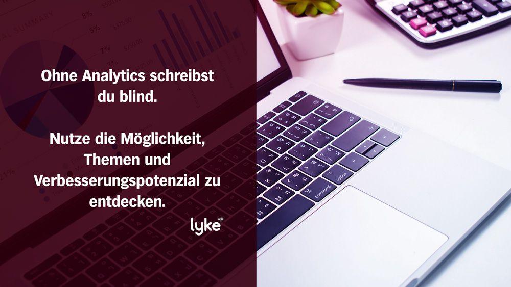 Google Analytics gehört in jeden erfolgreichen Blog