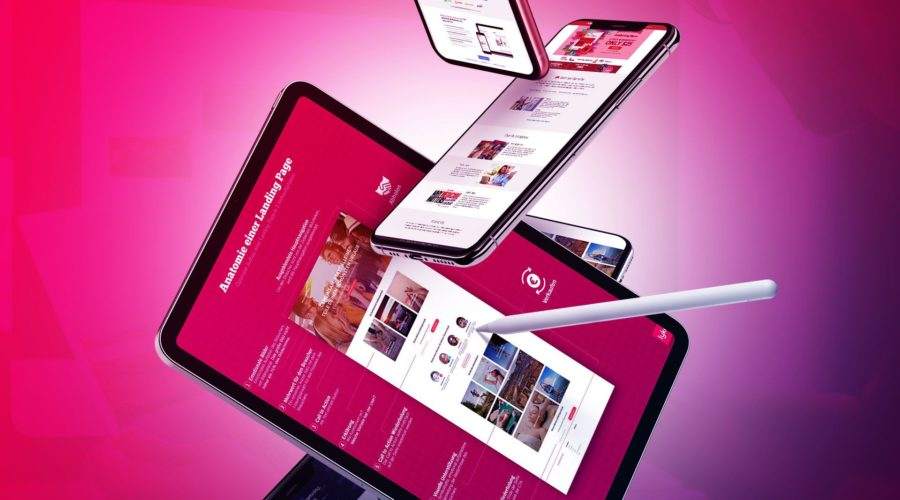 Landing Page Tipps & Designs