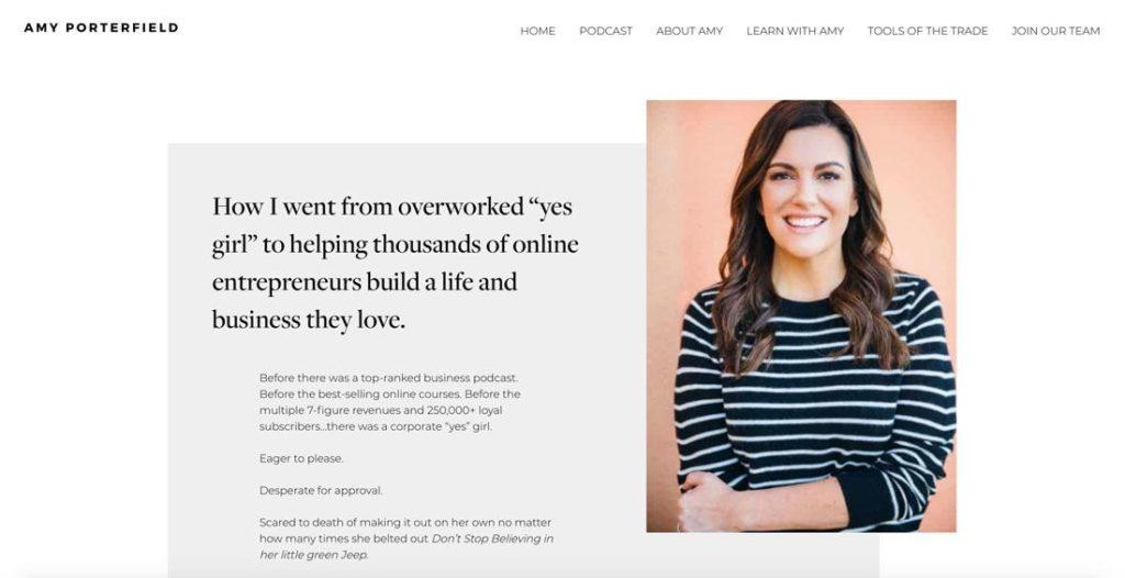 Eine Über mich Seite für deinen Blog erstellen