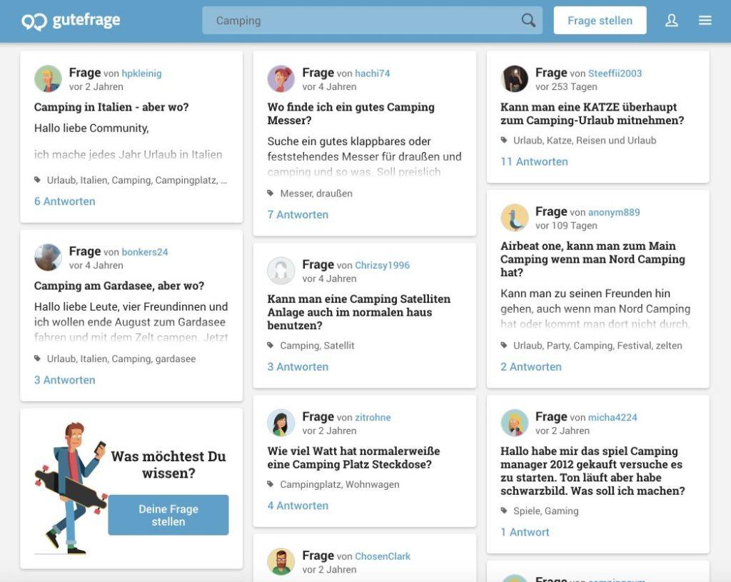 Content Marketing Ideen über Foren finden