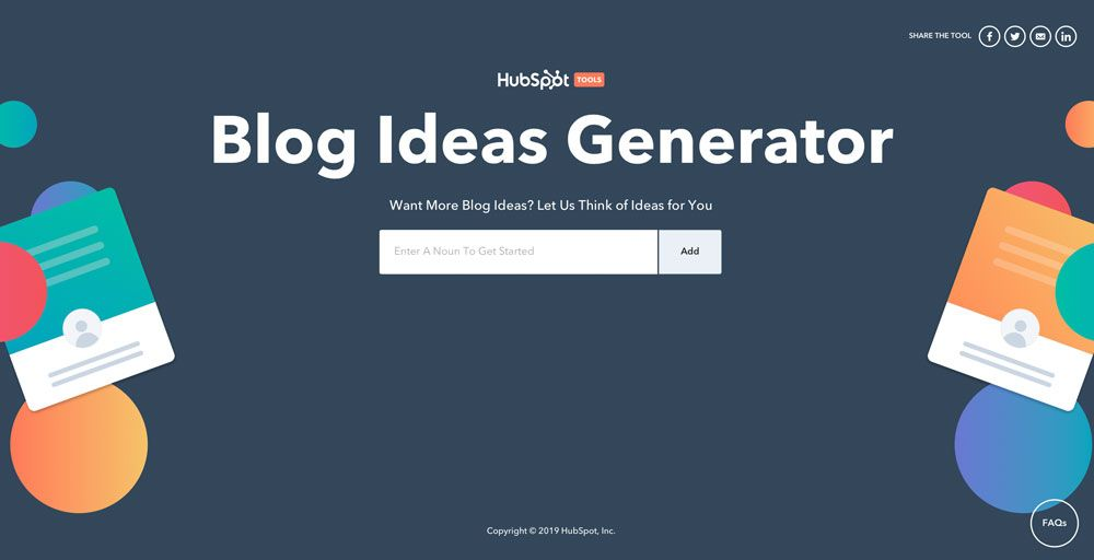 Blogthemen Generator