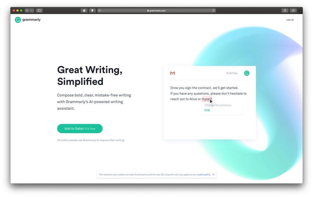 Blog auf Englisch mit Grammarly schreiben
