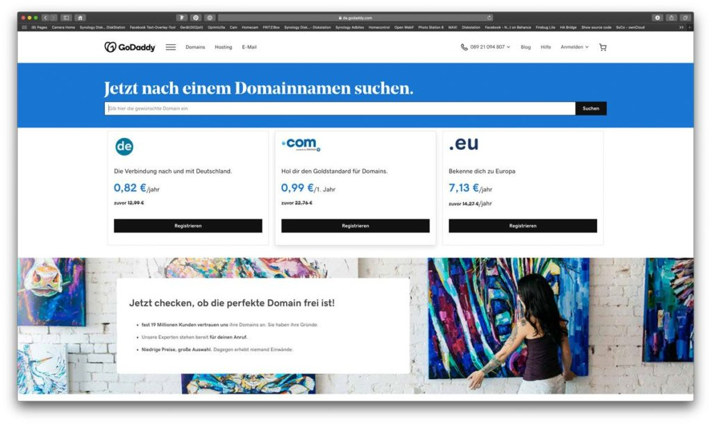 Domain checken für internationale Website