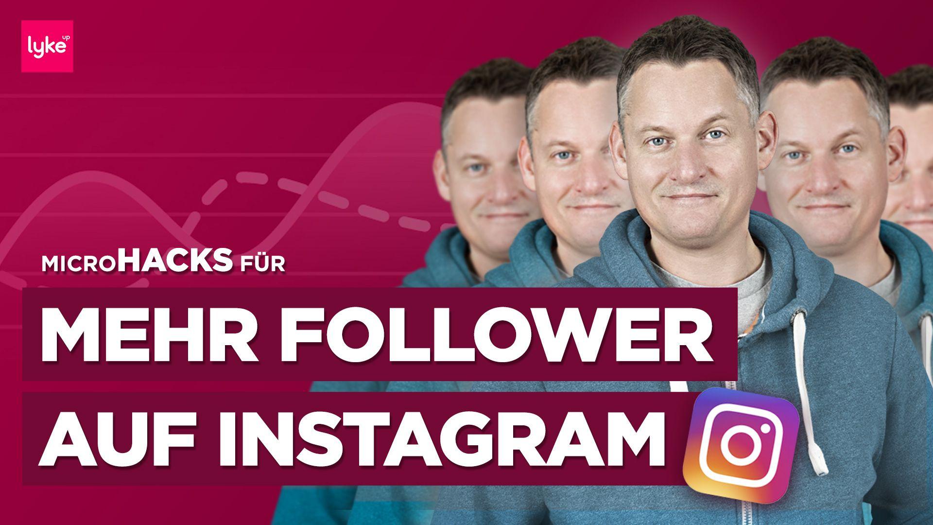Instagram Follower bekommen