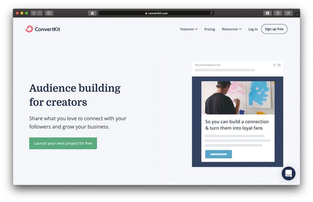 Convert Kit - Newsletter Aufbau und E-Mail Automatisierung