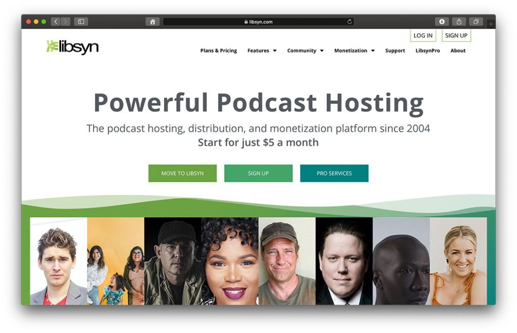 Libsyn Podcast Hosting und Distribution