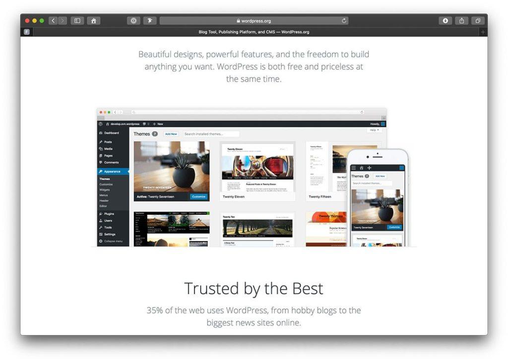 Das wahrscheinlich wichtigste Content Marketing Tool in unserem Toolset: WordPress