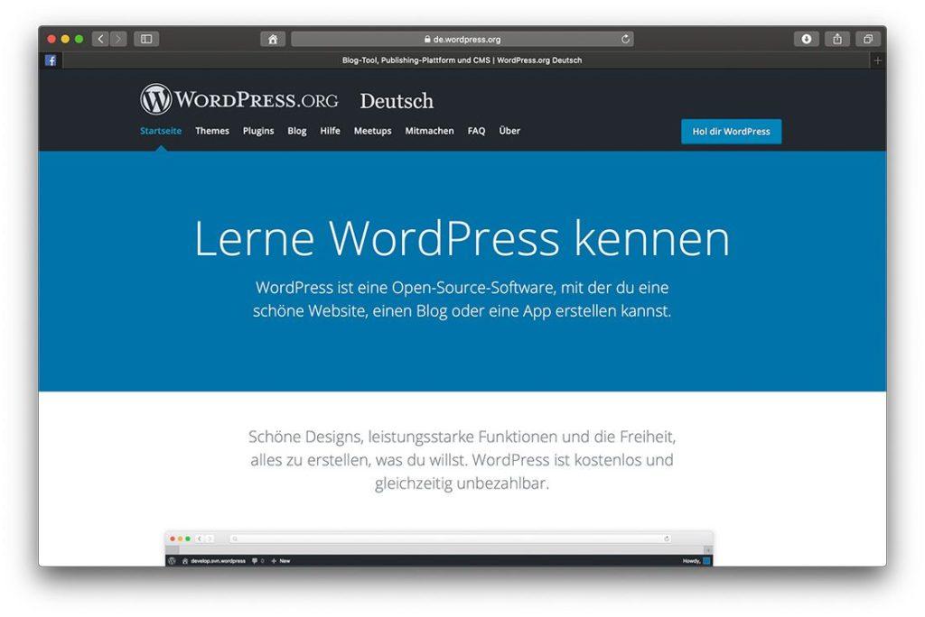 WordPress ist das beliebteste Open Source Blogsystem der Welt