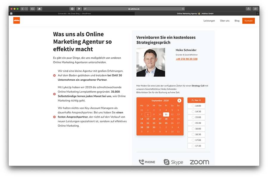 Bookly Pro - eines der besten WordPress Plugins für Terminbuchungen