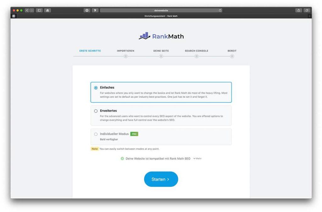 RankMath ist eines der neuen WordPress Plugins für SEO.