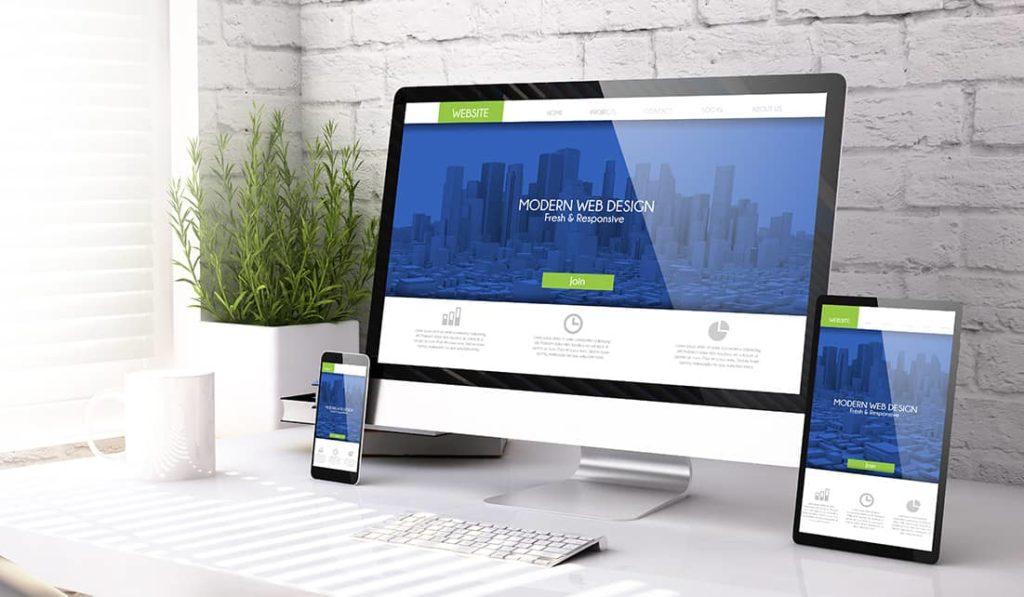 Geschäftliche Website erstellen