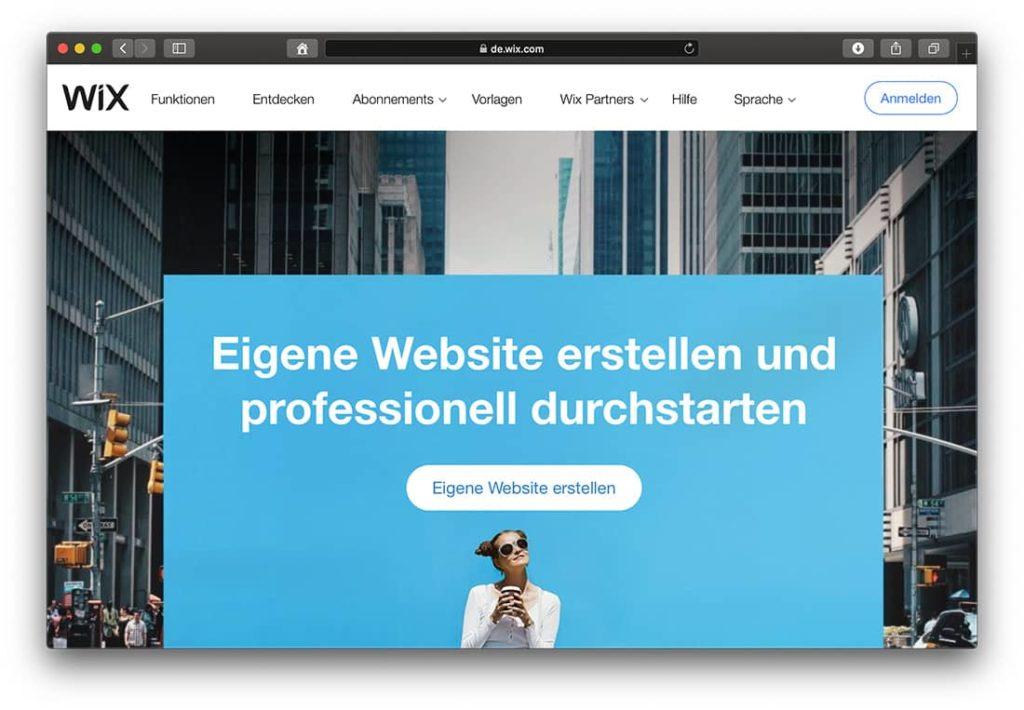 Blog mit Wix erstellen