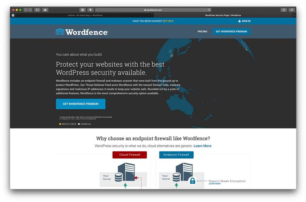 Wordfence für WordPress
