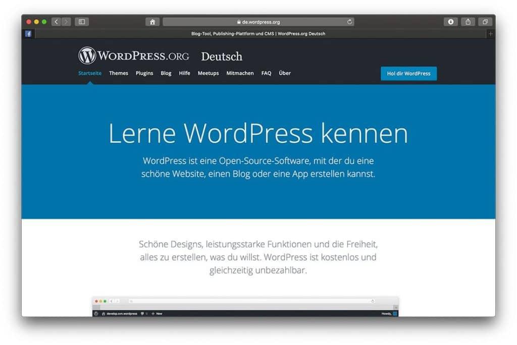 WordPress ist die beliebteste Open Source Blogging Plattform der Welt.