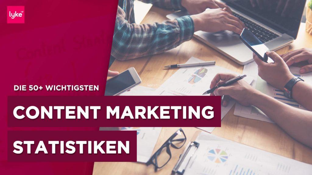 Content Marketing Statistik und Studien