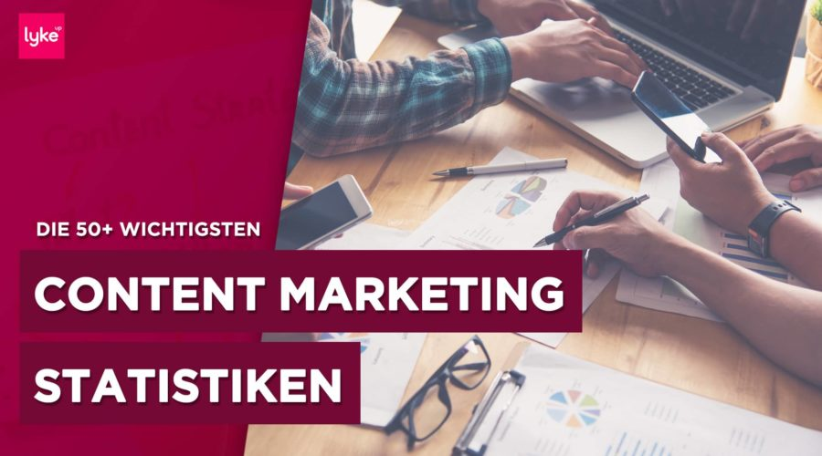 Content Marketing Statistik und Studien