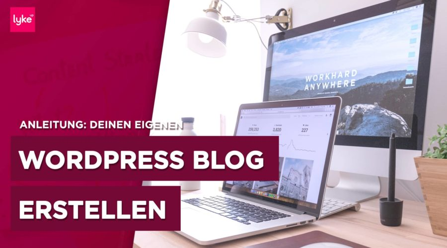 WordPress Blog erstellen